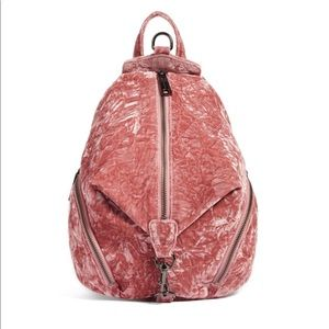 Rebecca Minkoff Julian Crushed Velvet Backpack
